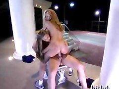 Shyla Stylez and Stormy Daniels get banged after tennis match