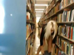 Caught Fapping at the Library