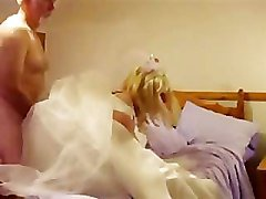 Young Crossdressing TV Bride Gets Fucked On Her Wedding Night