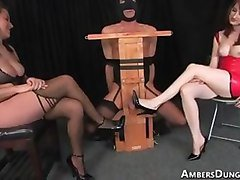 Mistresses Kiss and Kendra domination day