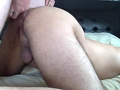 Daddy fucks son BB and destroys sons hole